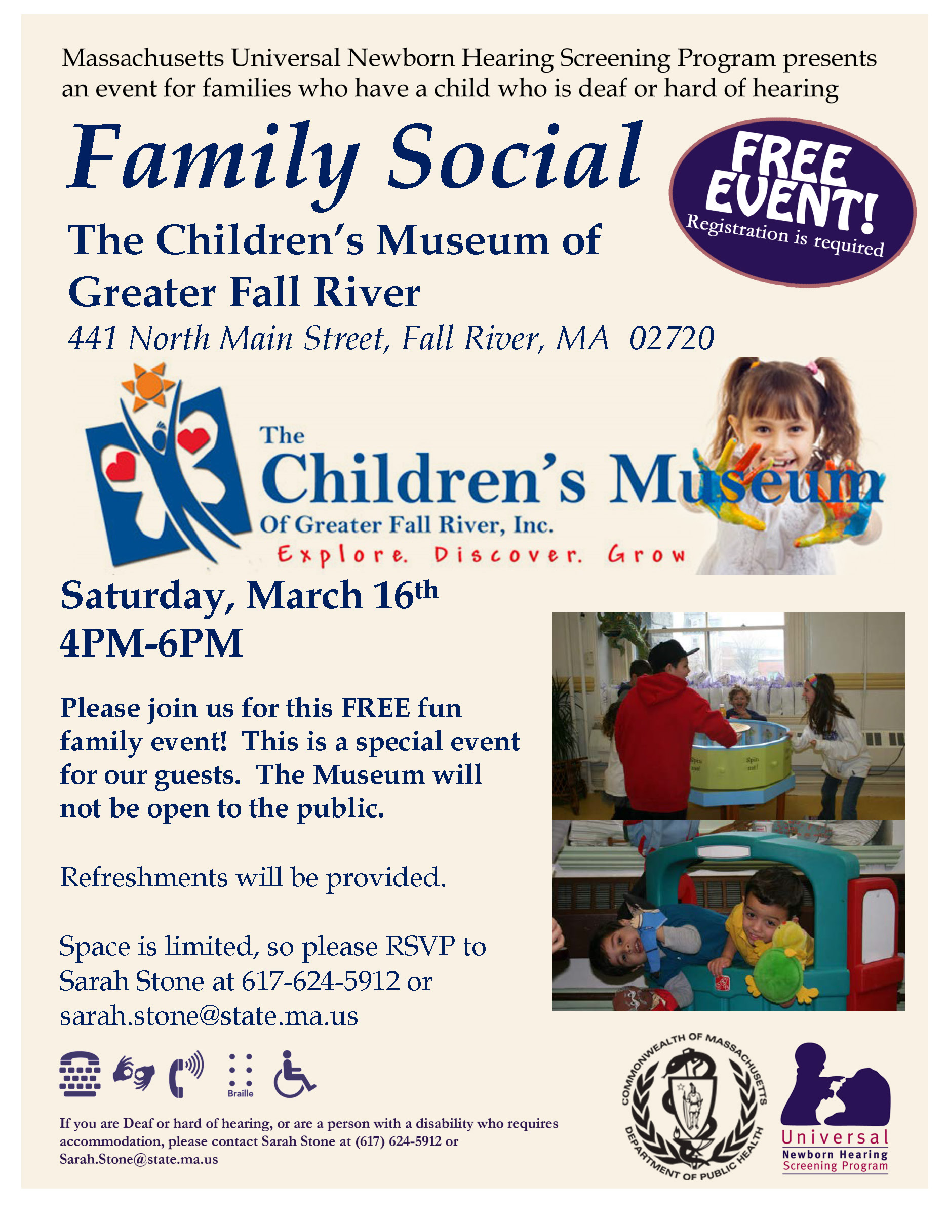 Children's Museum of Fall River Family Event