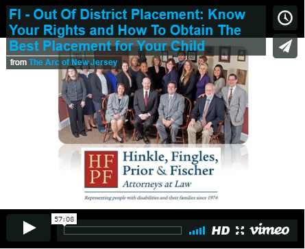 Out Of District Placement: Know Your Rights and How To Obtain The Best Placement for Your Child
