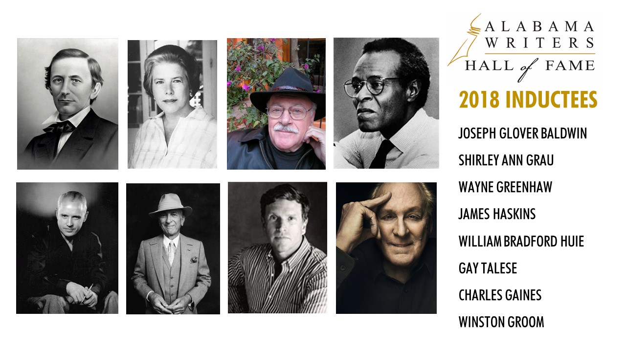Alabama Writers Hall of Fame Inducts Eight on May 24