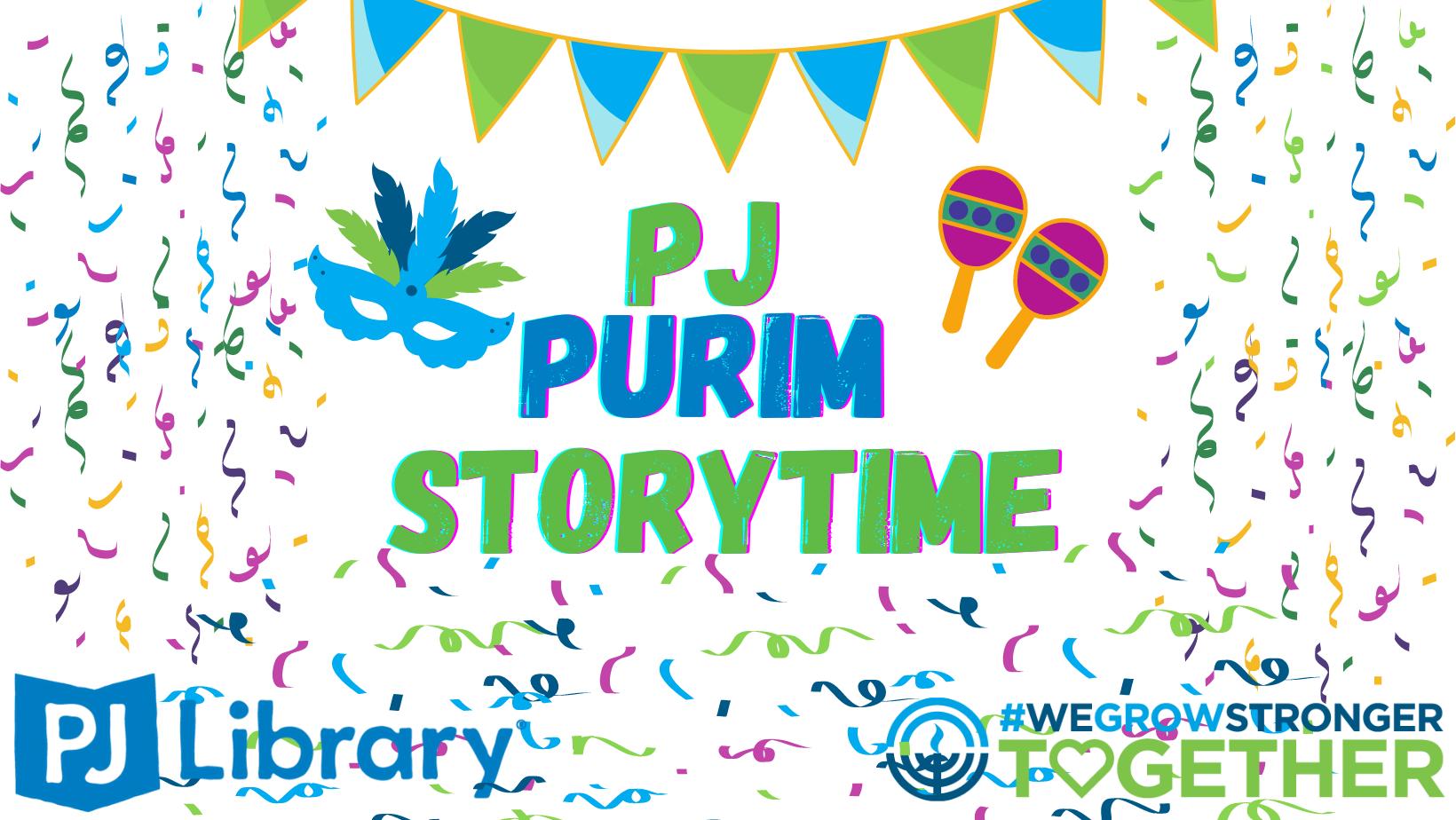 PJ Purim Storytime
