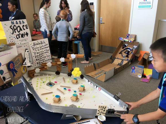 Knock Knock's Cardboard Challenge for Elementary Grades