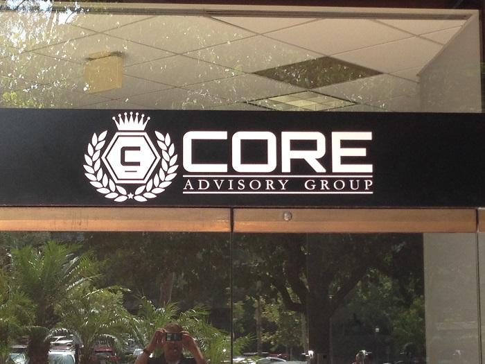 Vinyl Logo Sign