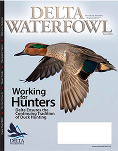 Fall Magazine Features Delta's First Hunt Program