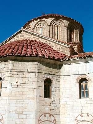 General restoration and rebuilding at the Monastery in Tsarev Brod