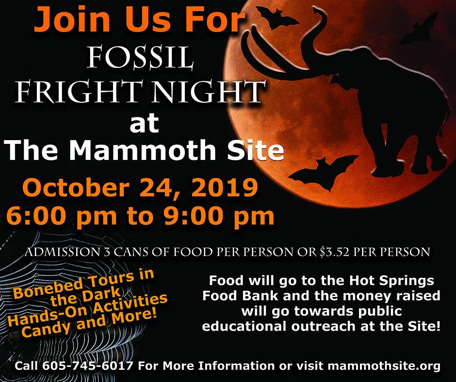 Fossil Fright Night