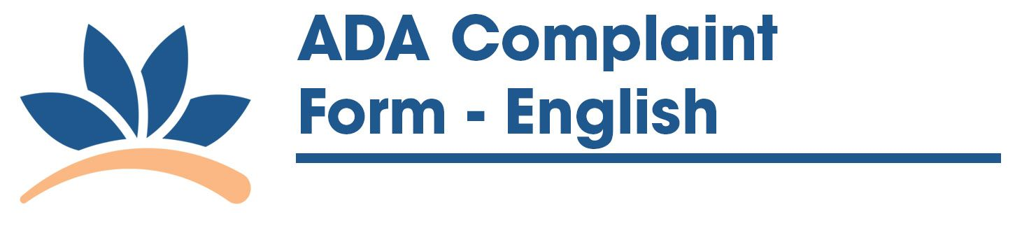 ADA Complaint Form - English