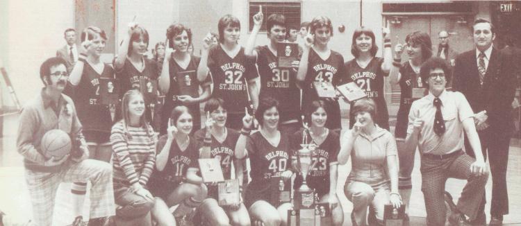 Delphos St John's 1977 Team