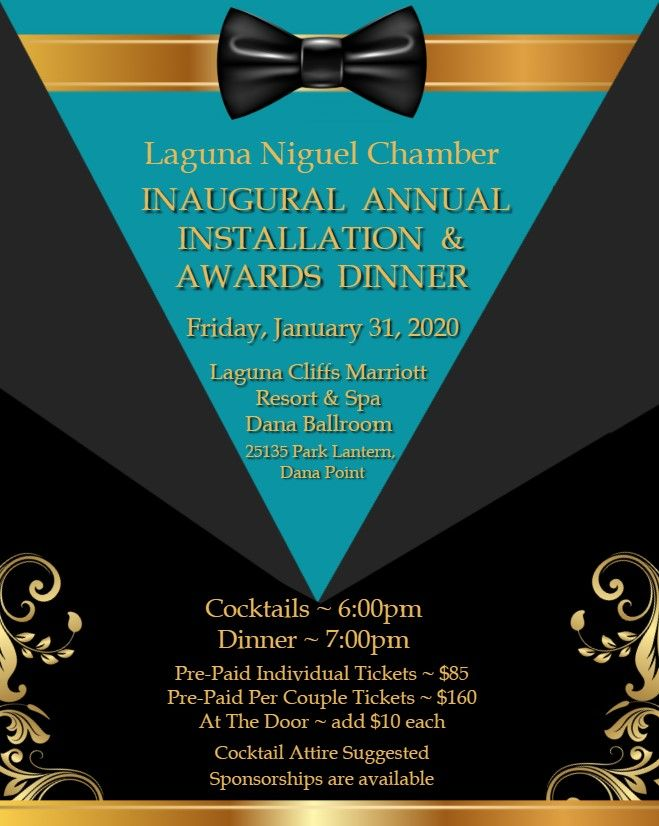 Inaugural Annual Installation & Awards Dinner