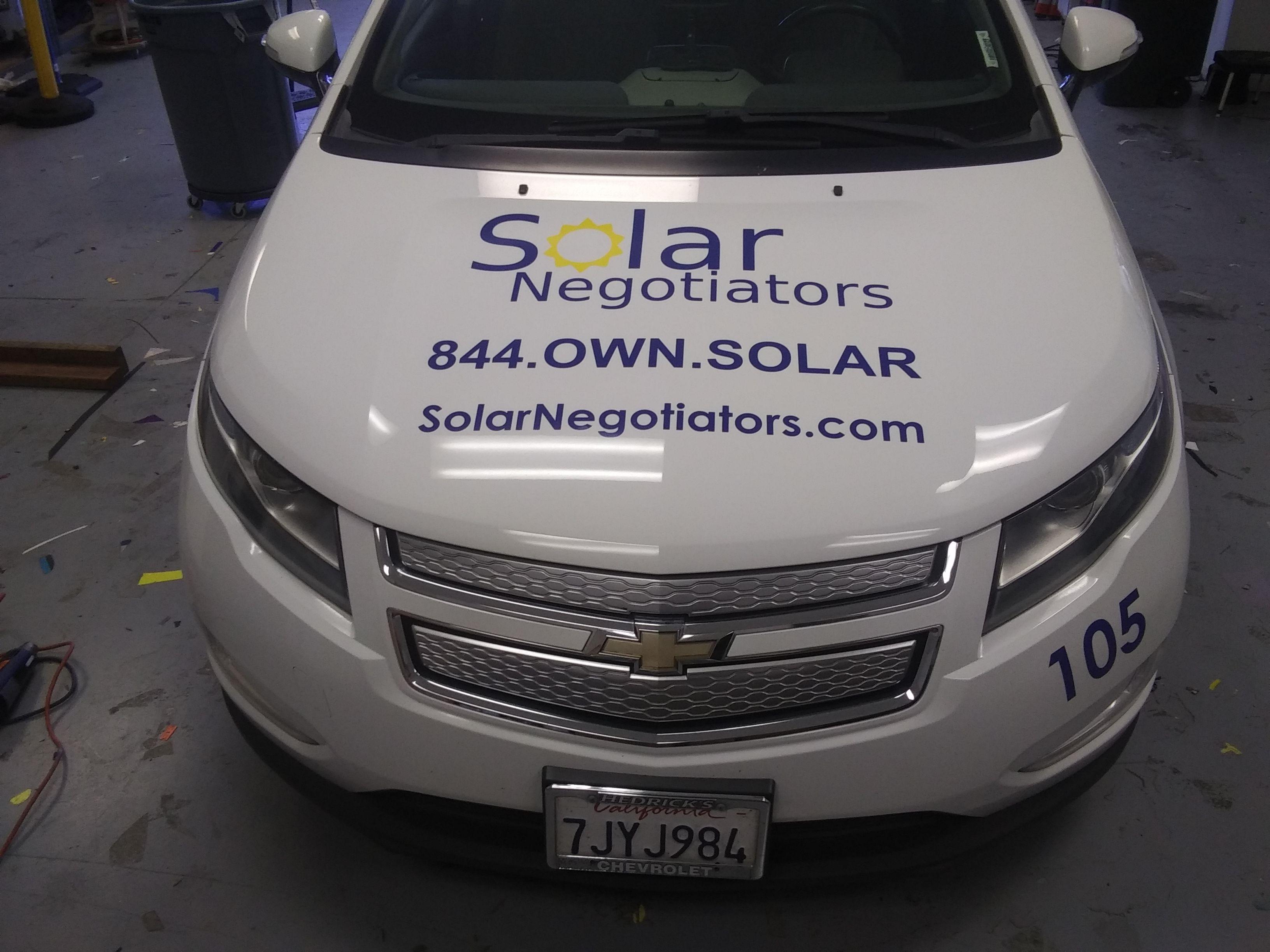 Solar Negotiators Hood