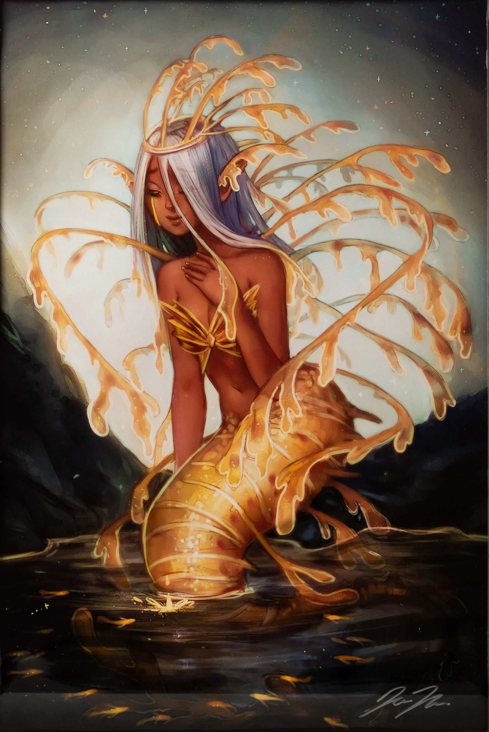 """Leafy Sea Dragon Mermaid"" - Jemaica Murphy"