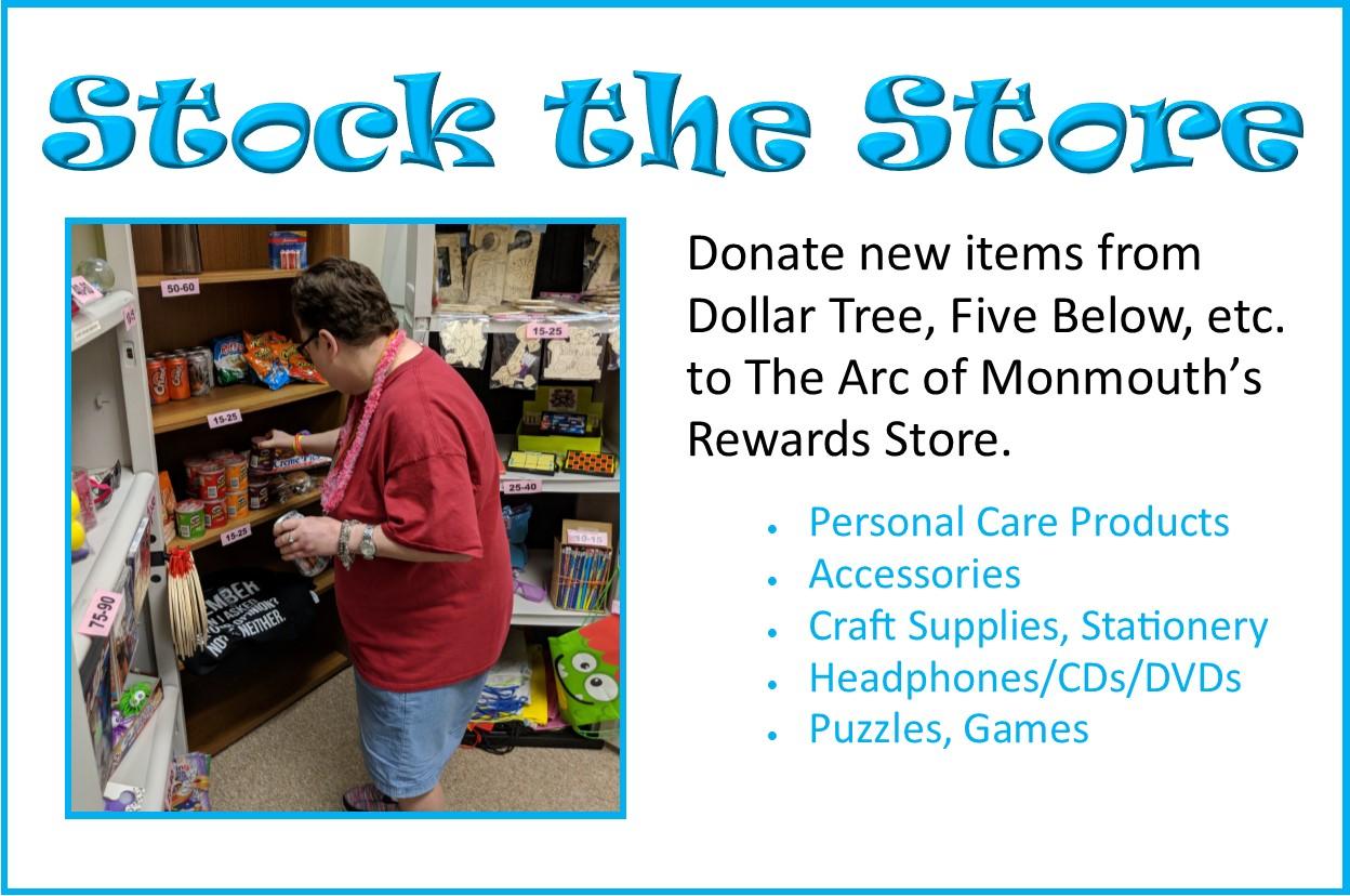 #StockTheStore