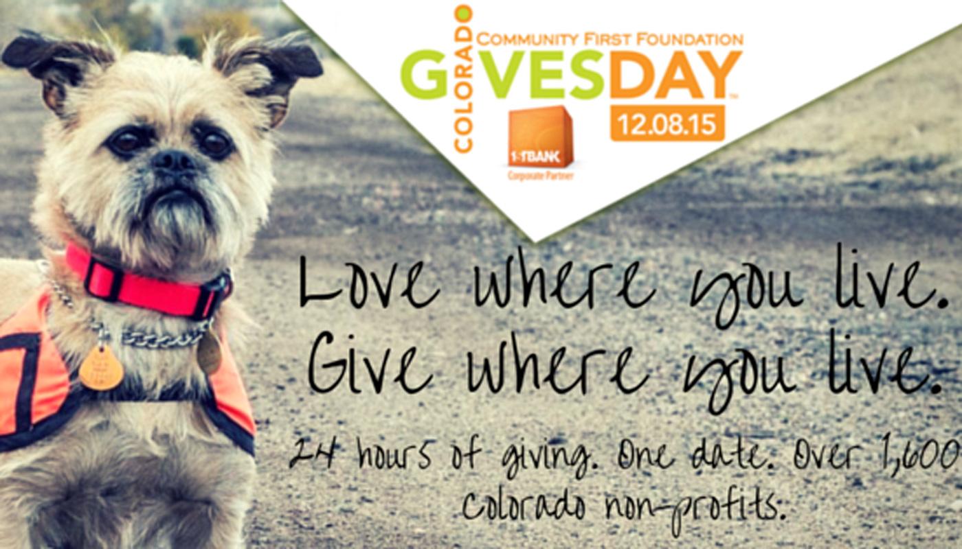 Colorado Gives Day -- Tuesday, December 8, 2015