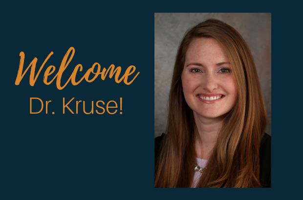 Welcome Dr. Heather Kruse!