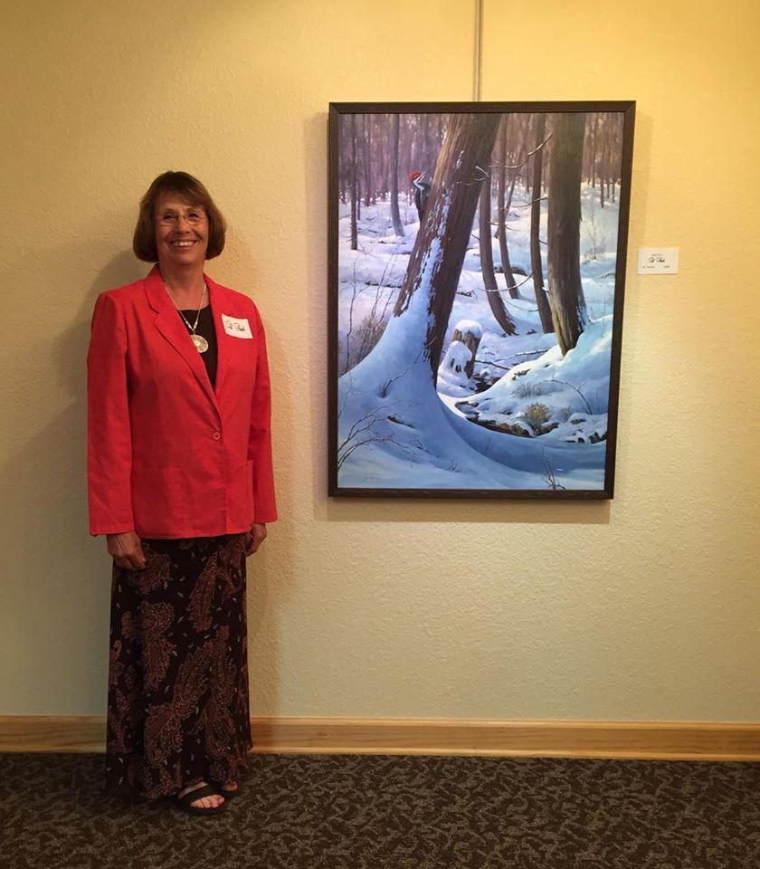 Gail Stanek Artist Reception 2016