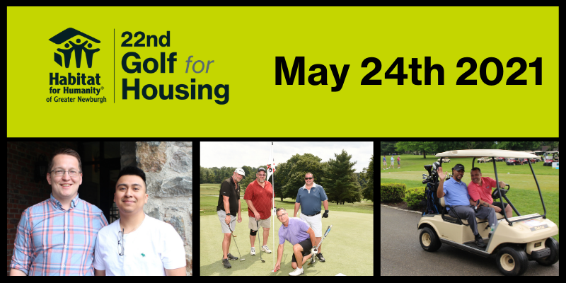 22nd Annual Golf Fore Housing