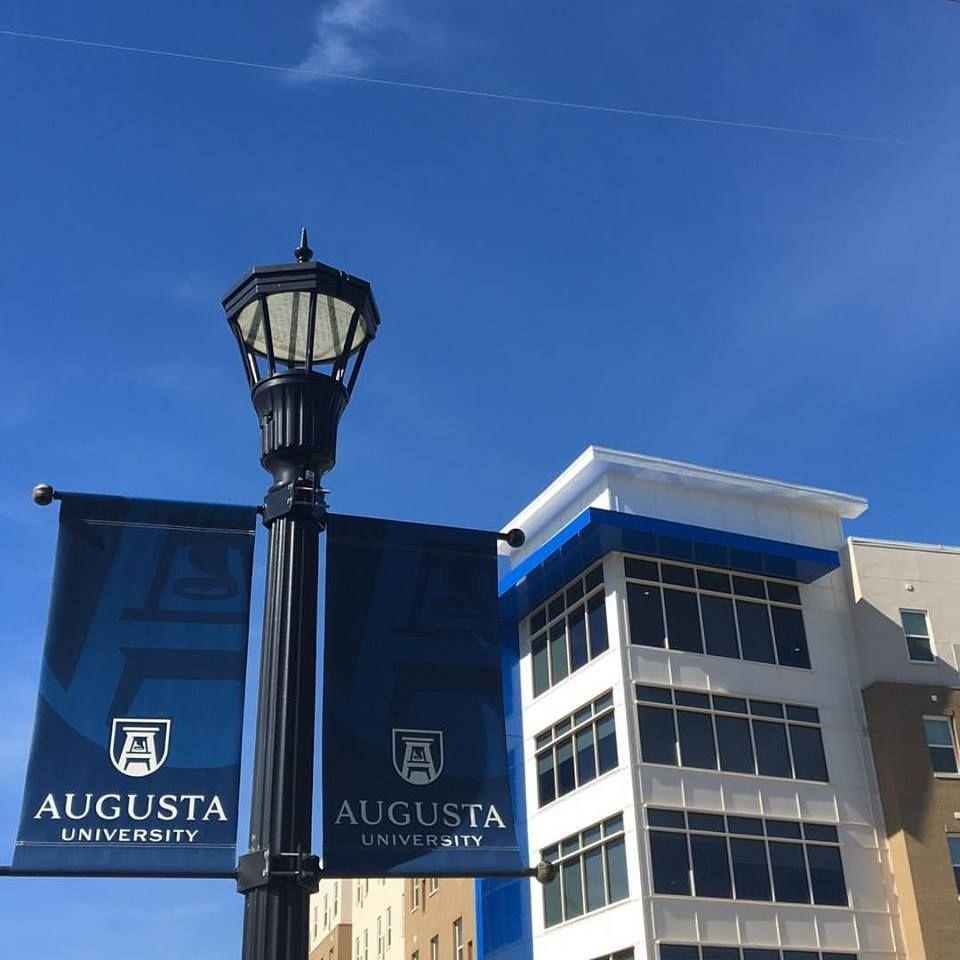 Augusta University Pole Banners