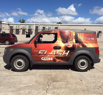 SUV Full Vehicle Wrap