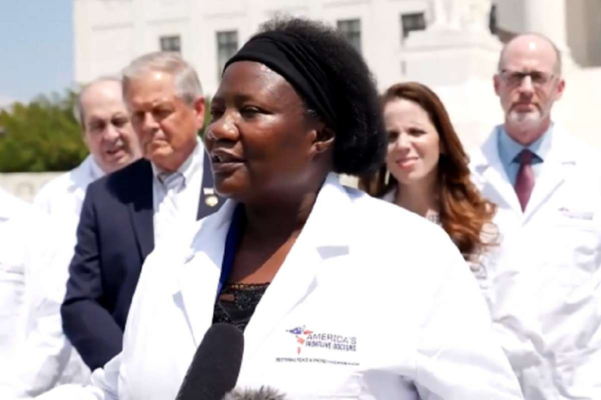 Dr. Stella Immanuel Fights for Covid Cure We Already Have