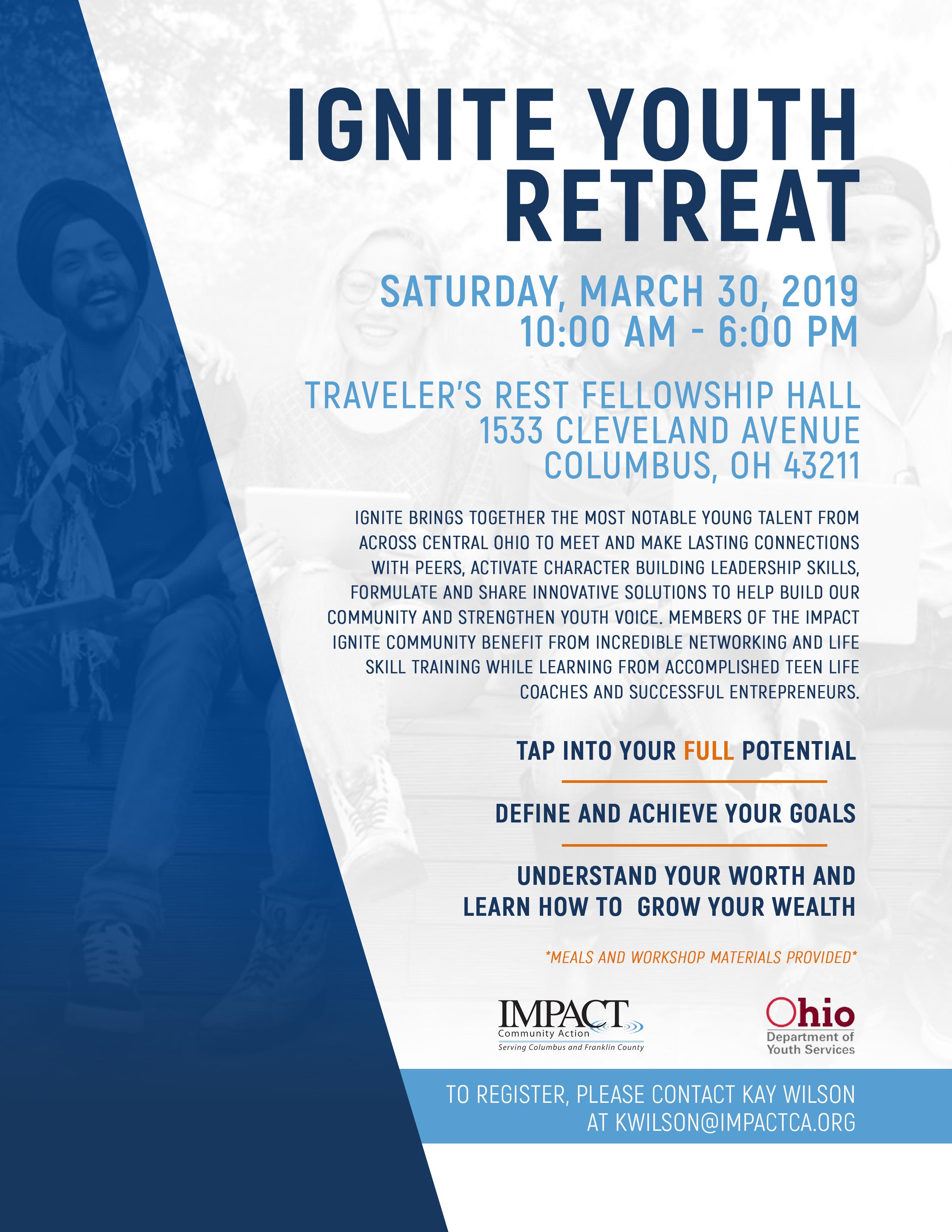 Ignite Youth Retreat