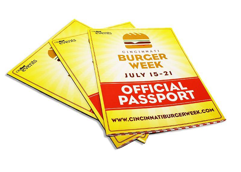 Cincinnati Burger Week Passport