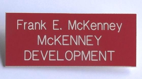 Engraved Name Badge
