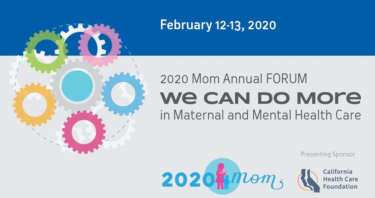2020 Mom: Maternal Mental Health Forum Webcast