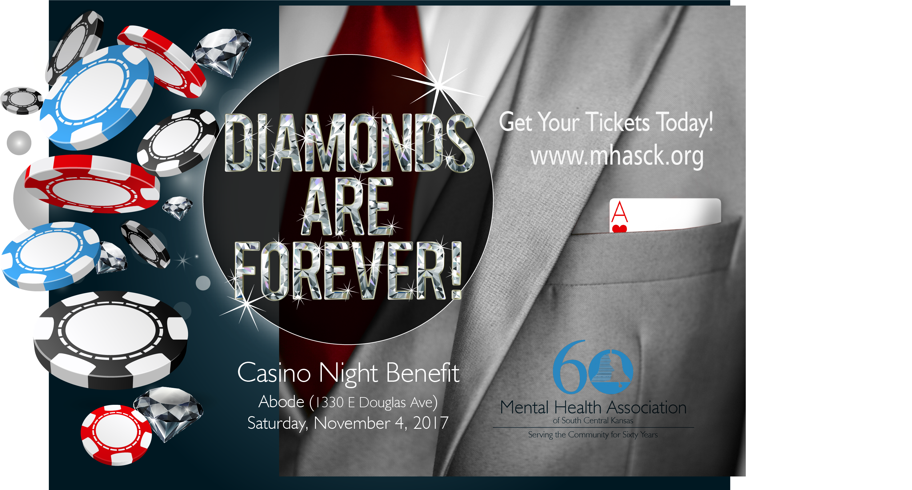 Tickets Available for Diamonds Are Forever