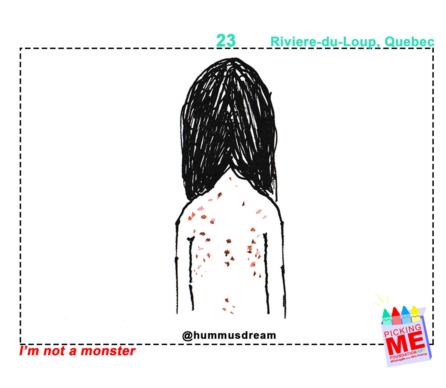 #DrawingWithDerma: @HummusDream