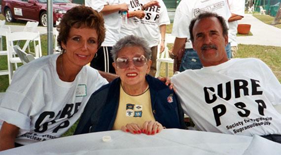 Cyntha, Dorothy, and John MacDonald
