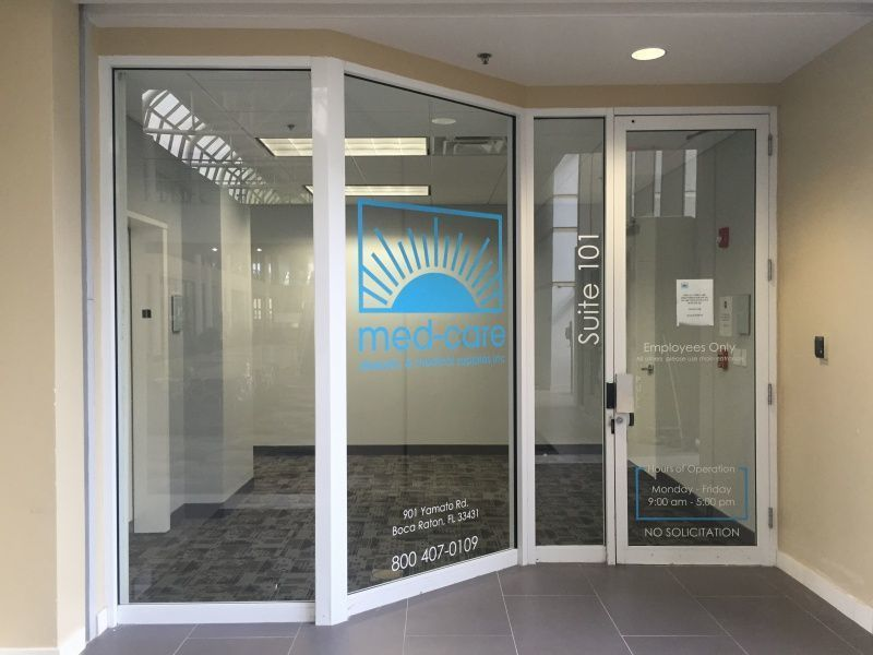 Best Sign Company - West Palm Beach - Window Graphics
