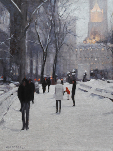 First Place - Snow Day in Central Park