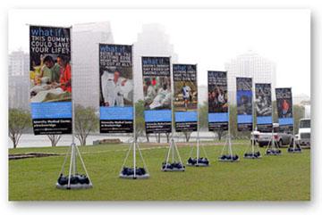 Vertical Vinyl Banners - Vertical vinyl banners