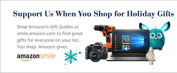 Support Us When You Shop For Holiday Gifts!
