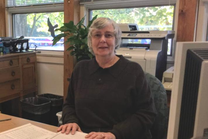 Volunteer Kristine Stuart