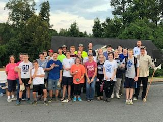 Brainerd LDS Church Volunteer Work Day July 2018