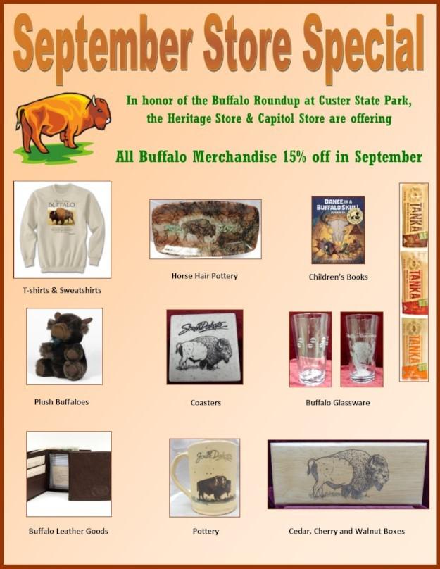 September Store Special