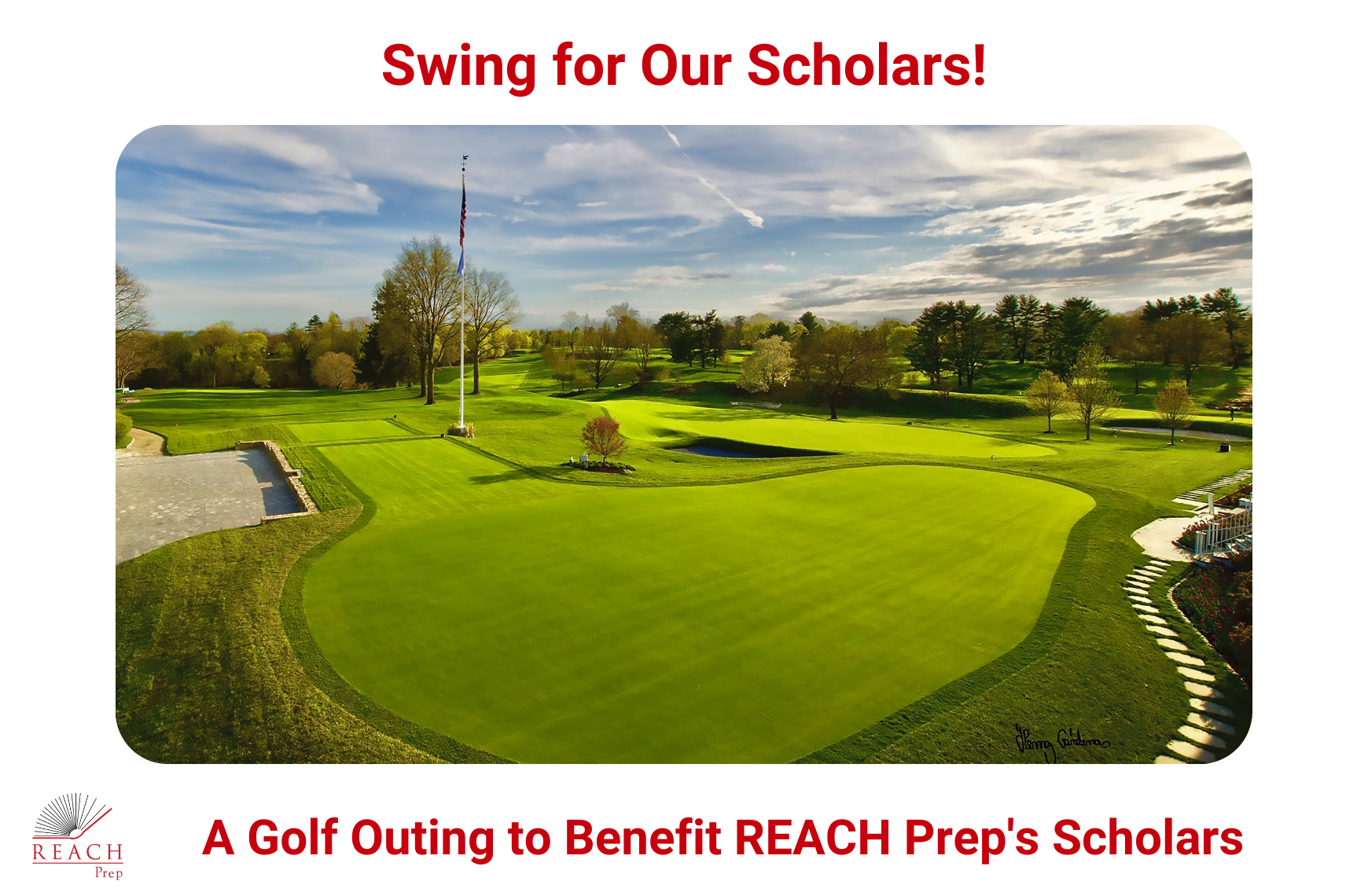 """""""Swing for Our Scholars"""" Golf Outing"""