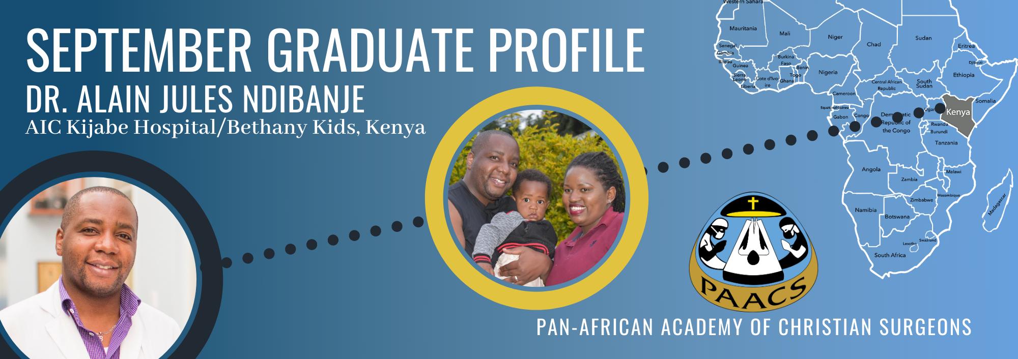Graduate Profile: Dr. Alain Jules Ndibenje