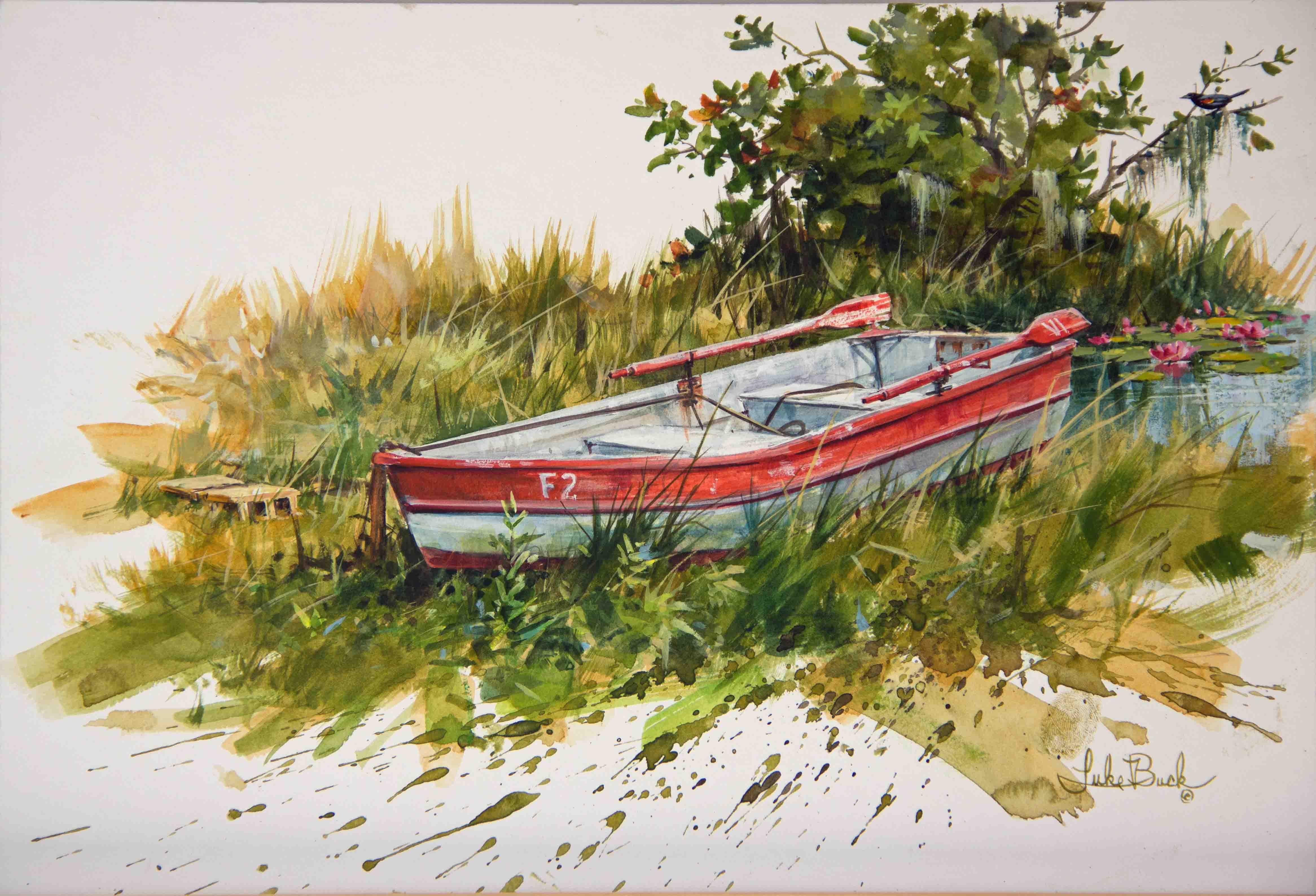 Watercolor Workshop with Luke Buck
