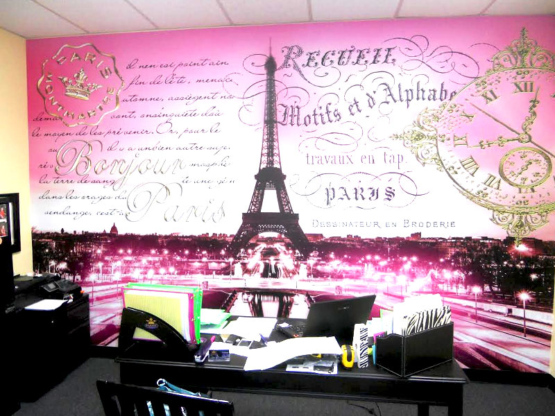 wall murals wall decals featured french themed wall murals