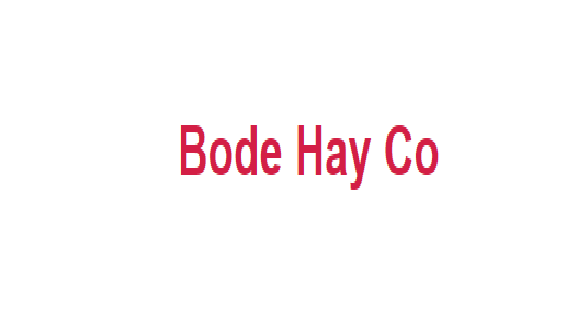 Bode Hay Co