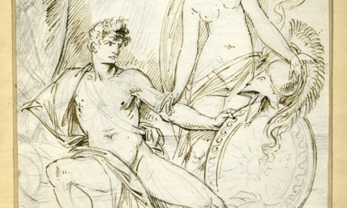 Study for Thetis Bringing the Armor to Achilles