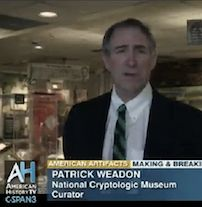 American History C-Span3 Features the National Cryptologic Museum