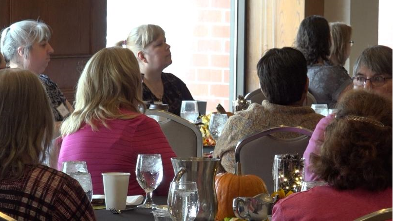 Breast Cancer Survivors Share Stories of Hope over Thanksgiving Meal