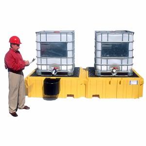 A01PF330 Ultra-Twin 2-IBC Spill Pallet® w/o Drain