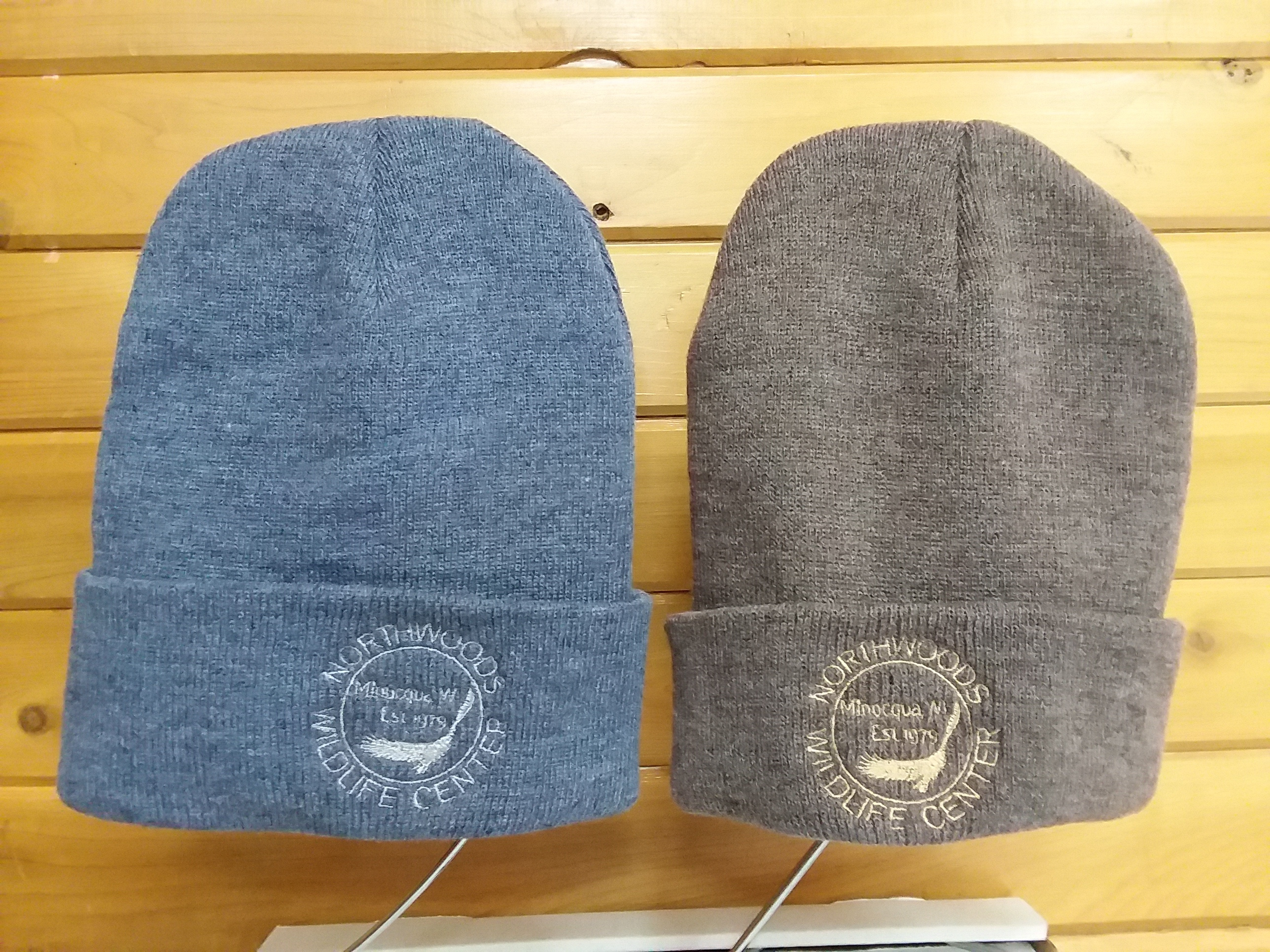 Knit Hat Heather Blue $17 + $4 shipping