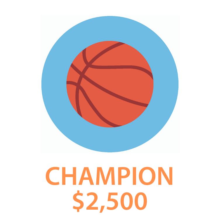 2. Champion - $2,500
