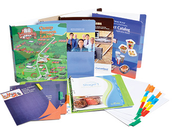 binders tabs binder printing full service digital printer