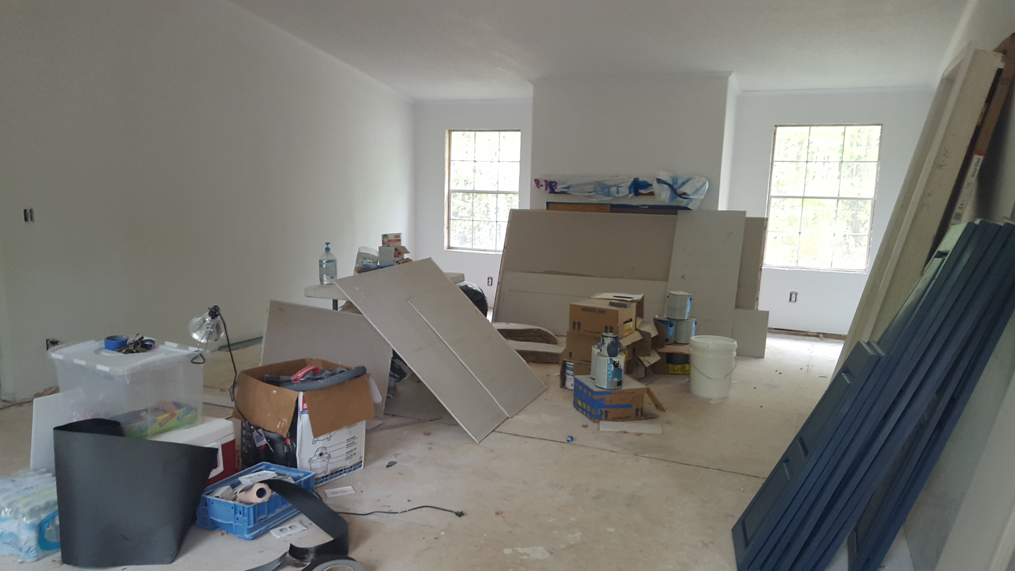 Carey Road Home Rehab Update