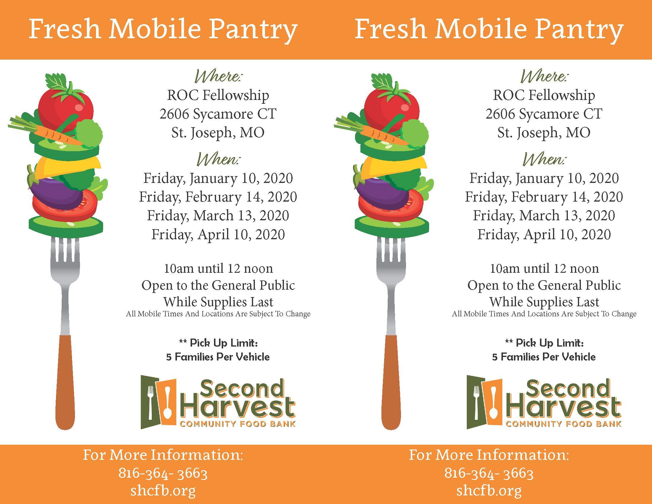 ROC Fellowship Fresh Mobile Pantry